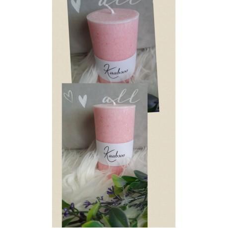 Kaabsoo lauaküünal 10x6 - roosa