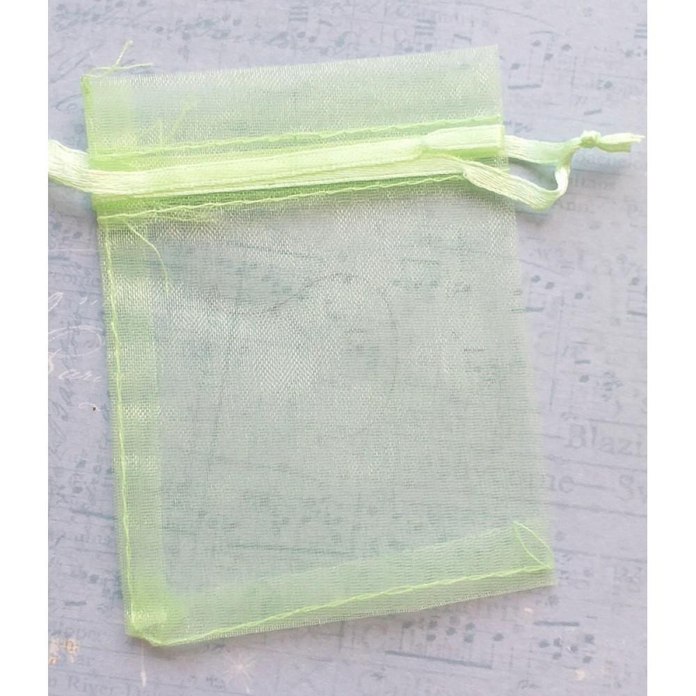 Kinkekott  7x9 cm - h.roheline